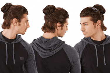 clip on man bun hits the market