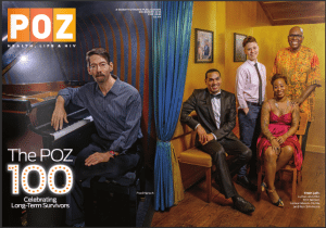 Poz Magazine celebrates 100 long term HIV