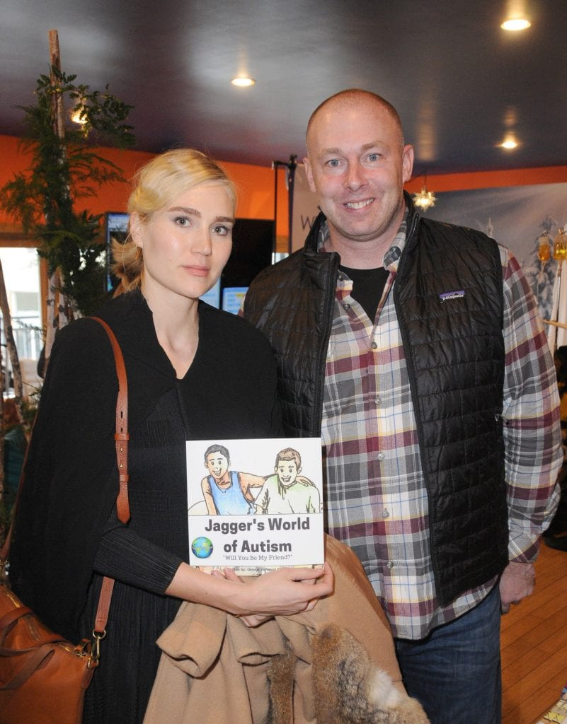 PARK CITY, UT - JANUARY 22: Actress Nora Kirkpatrick and Author Dennis Vanasse attend EcoLuxe Lounge Ten Years at Sundance on January 22, 2017 in Park City, Utah. (Photo by Vivien Killilea/Getty Images for EcoLuxe)
