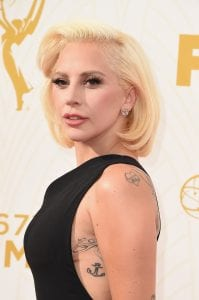 Lady Gaga hair-do styled using Matrix StyleLink products