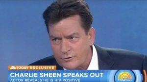 Charlie Sheen announces he is HIV positive
