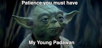 Image result for patience yoda