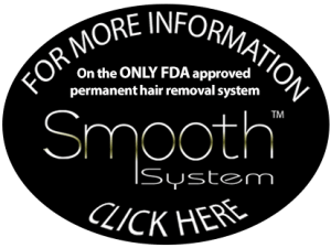 Smooth System and Lucy Peters: Permanent, FDA approved hair removal