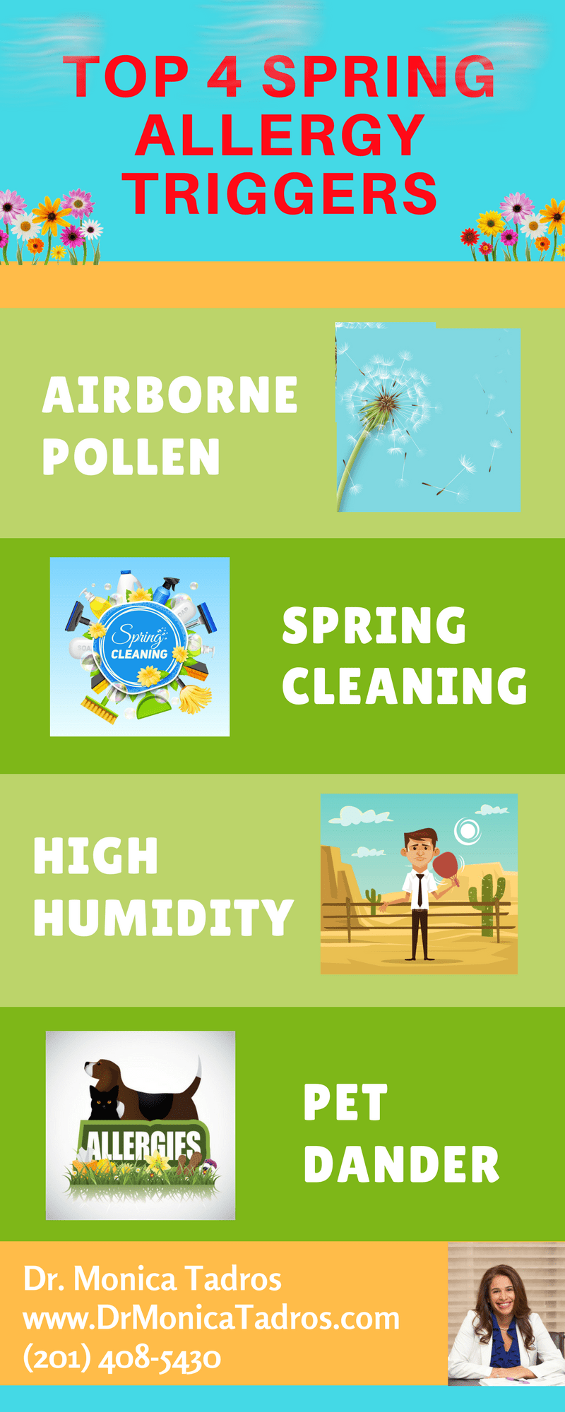 NYC ENT Releases Top 4 Triggers for Spring Allergies – New