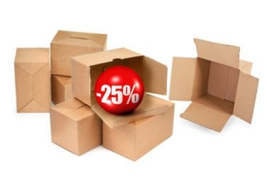lessen product packaging cost