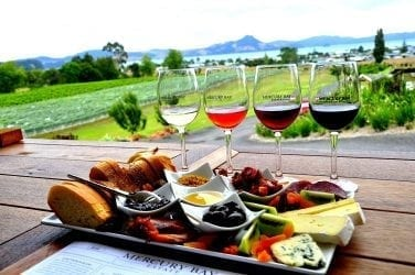 best food and wine pairing for the winery